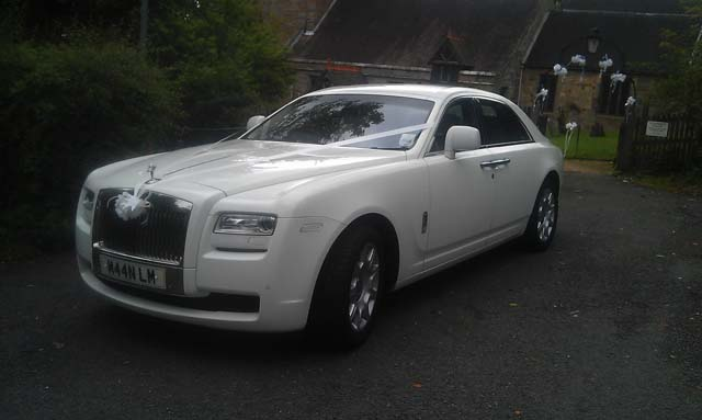 immaculate wedding car hire