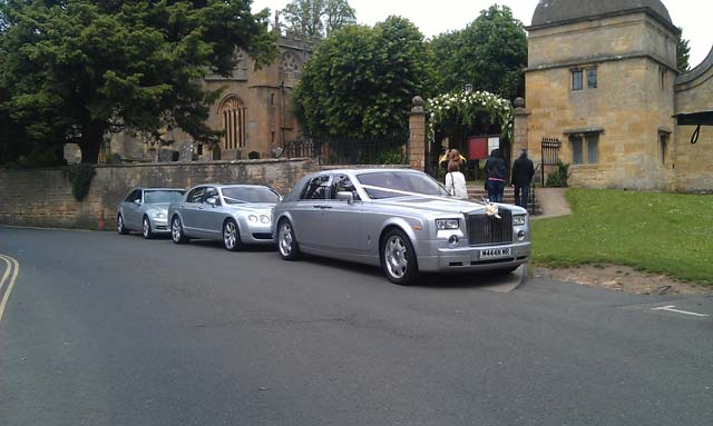 Multiple car hire for weddings