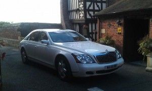 Maybach wedding car