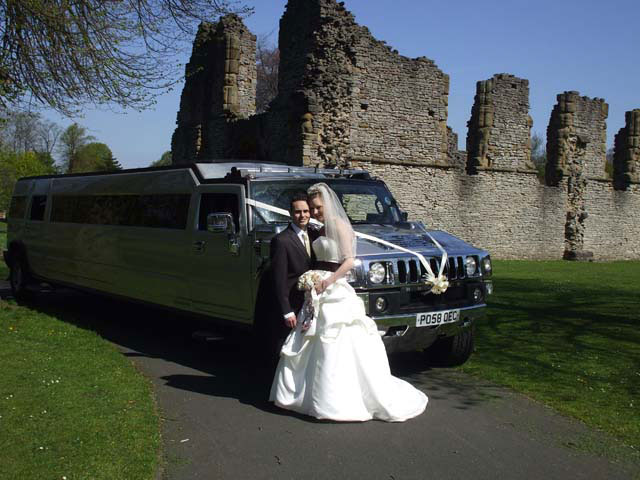 Silver limo car hire