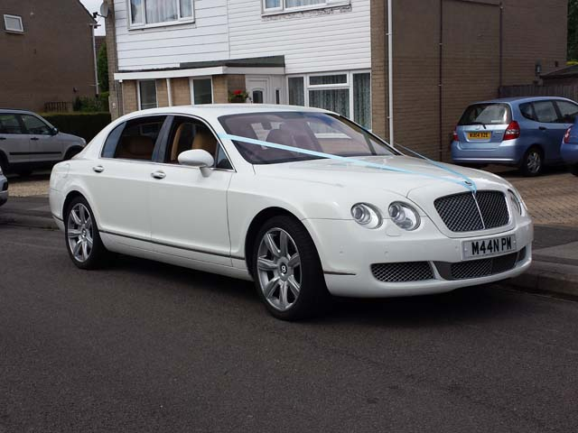 Car hire for weddings