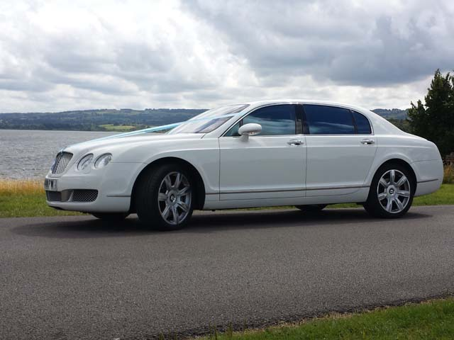 Manns Limousines side view Rolls Royce