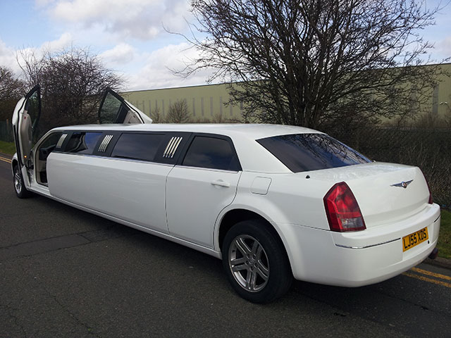 Chrysler 300c Limo (Baby Bentley Limo) Blue Crush (1)