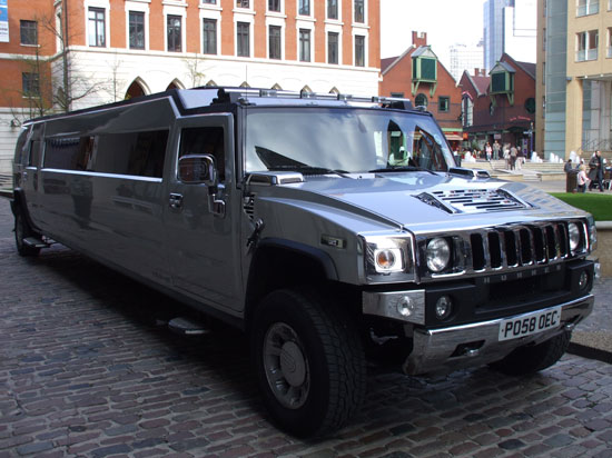 Manns Limo Hummer Prom car