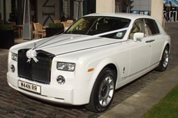 Rolls Royce wedding car