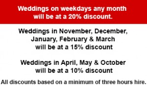 Wedding Car Hire Discounts