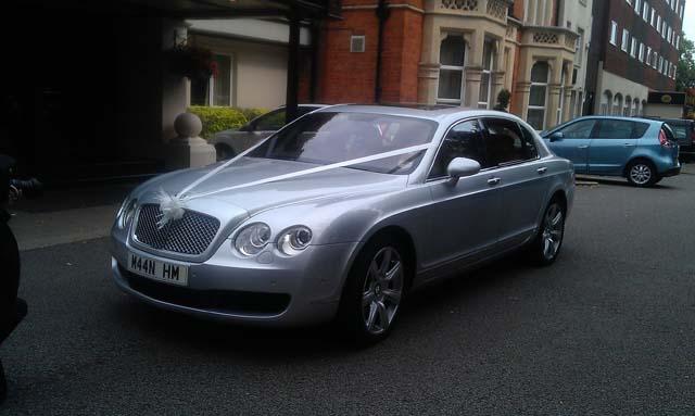 Bentley wedding car hire for west midlands