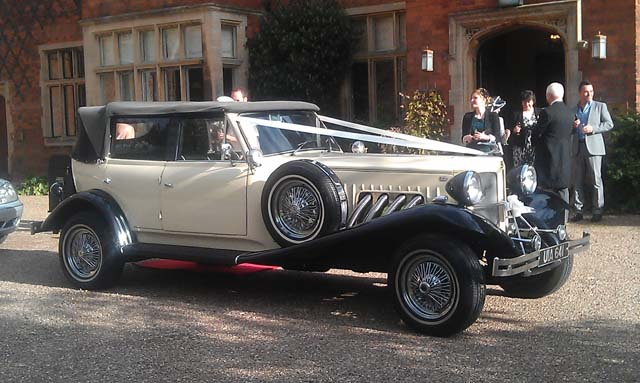 vintage classic wedding cars