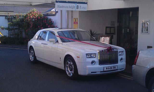 Rolls Royce Car hire for prestige wedding car hire West Midlands