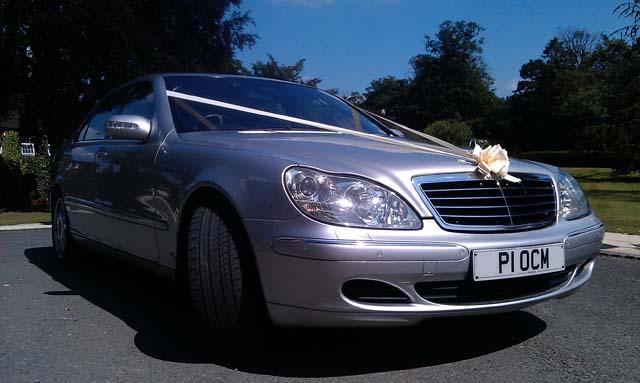 Mercedes car hire for prestige wedding car hire birmingham