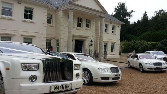 Rolls Royce wedding cars for prestige wedding car hire birmingham