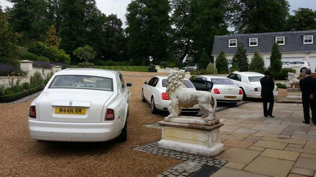 Rolls Royce hire luxury wedding car