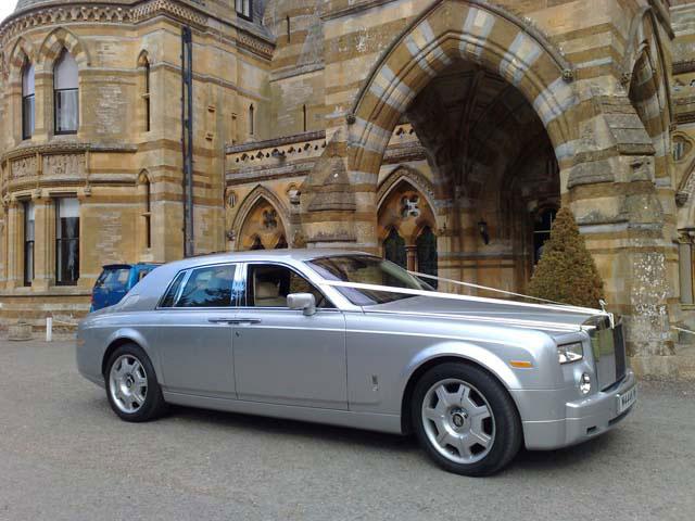 Rolls Royce for prestige wedding cars Birmingham