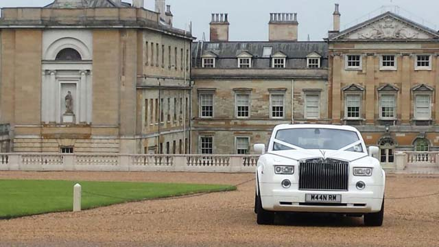 White rolls royce hire