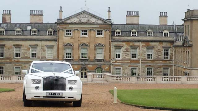 Rolls Royce hire from Manns Limousines Birmingham