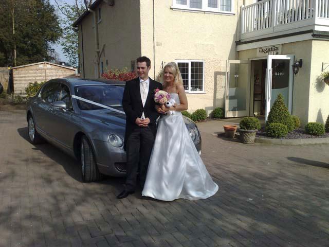 bentley for prestige wedding cars Birmingham