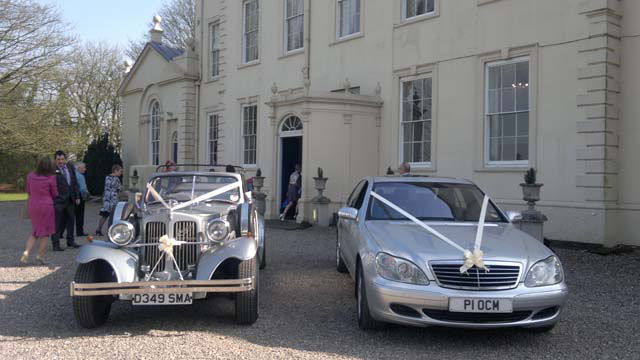 Modern and Traditional wedding Cars for hire
