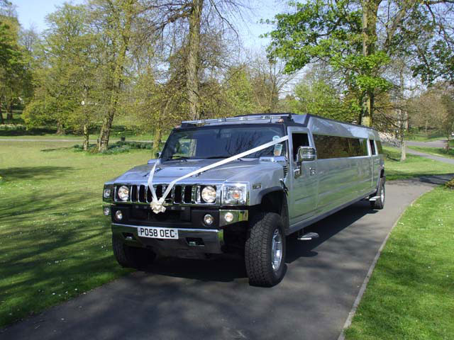 Birmingham limo wedding hire