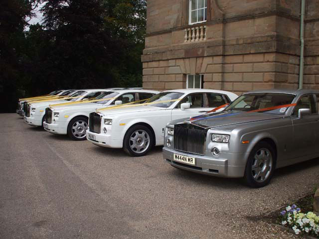 Multiple Rolls Royce hire