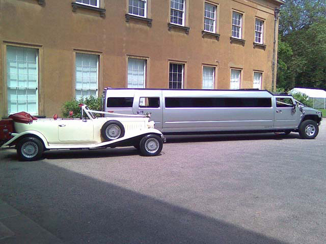 Traditional and modern car and limo hire