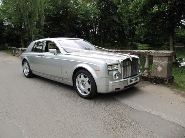 Rolls Royce phantom wedding hire west midlands