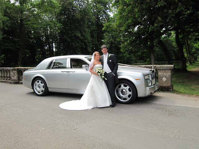 Special wedding day Rolls Royce car hire