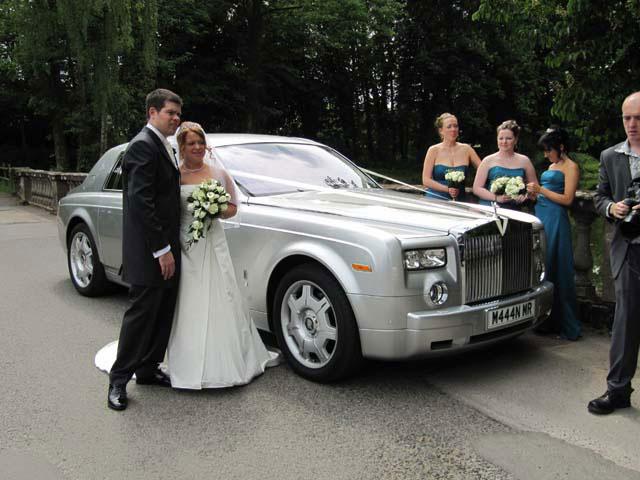Rolls Royce for prestige wedding car hire West Midlands