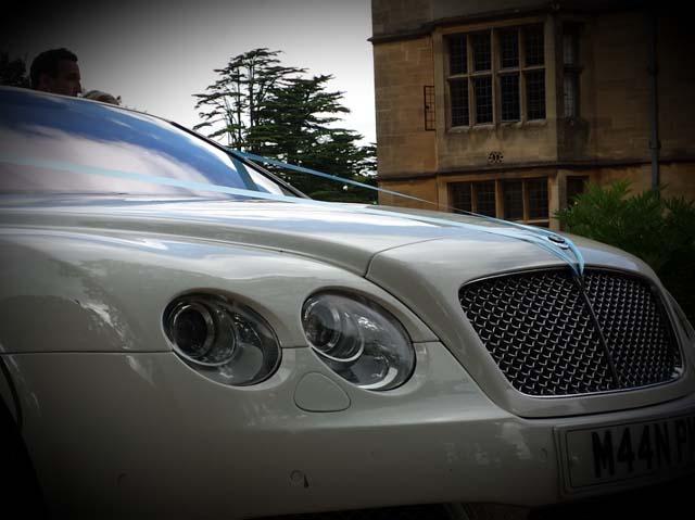 Close up Rolls Royce Manns Limos