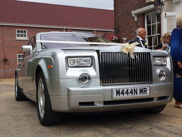 Rolls Royce Wedding hire Manns Limo