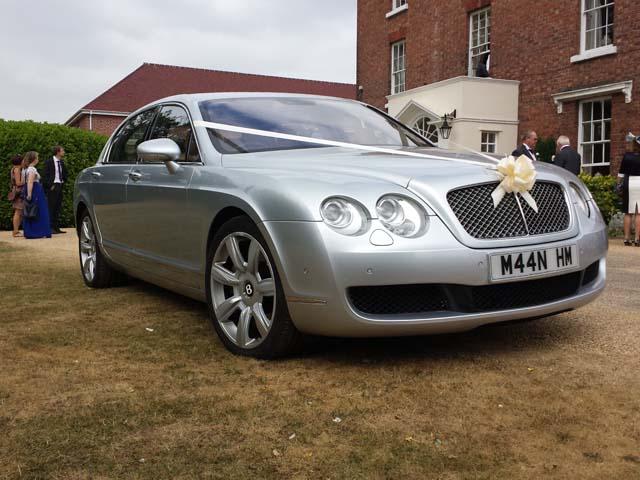 Rolls Royce hire car for prestige wedding car hire West Midlands