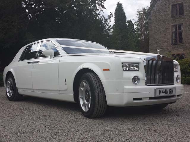 rolls royce for hire for prestige wedding car hire West Midlands
