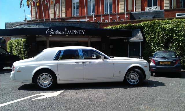 arrive in style rolls royce hire