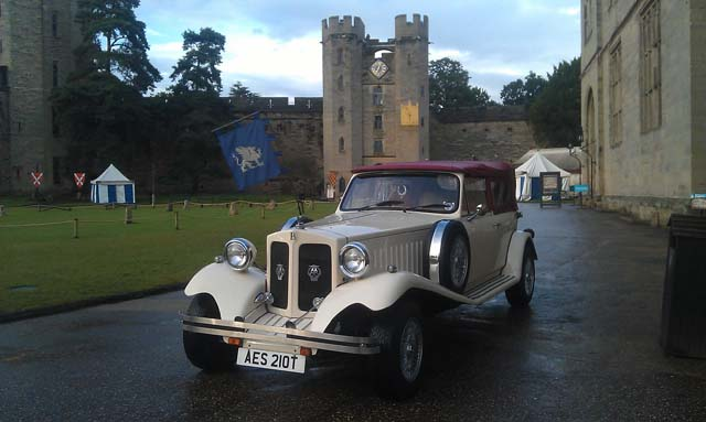 vintage and classic wedding car for wedding car hire West Midlands