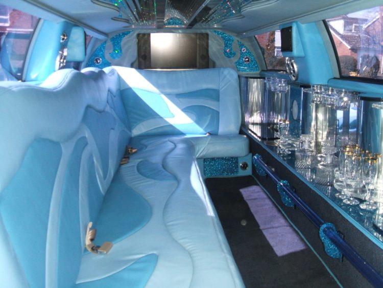 Chrysler limousine for hire Birmingham