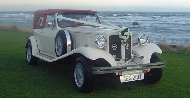 traditional wedding car