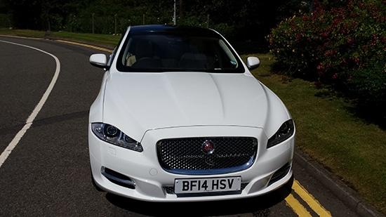 Manns Limousines Jaguar XJ LWB White