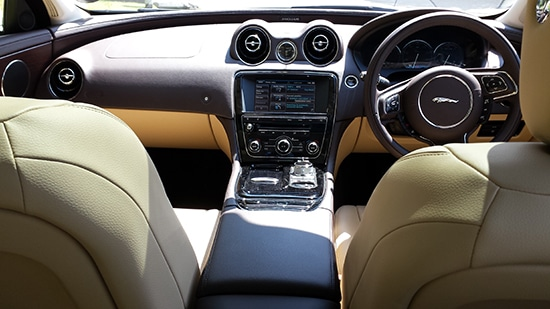 Jaguar XJ LWB White Interior