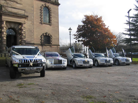 Manns Limousines Limo Fleet