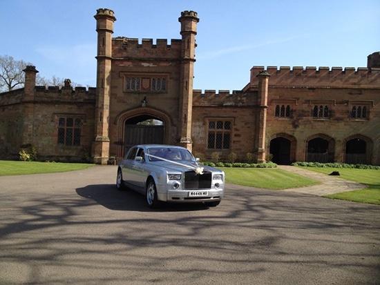 Silver Rolls Royce hire