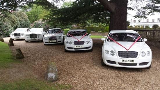 Wedding Cars fleet available for wedding car hire