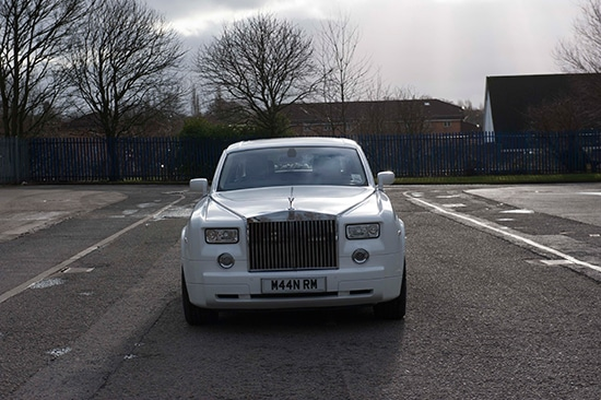 Rolls Royce wedding car for prestige wedding cars Birmingham