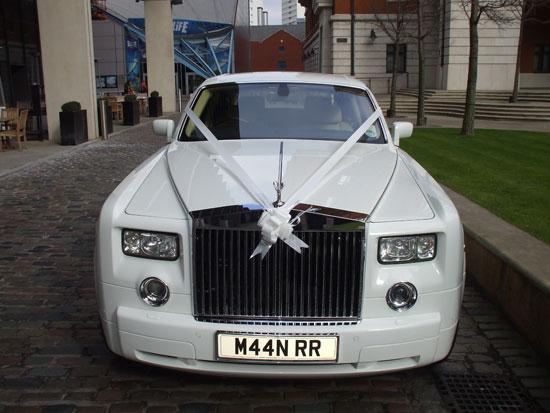 Rolls Royce Hire for prestige wedding cars Birmingham