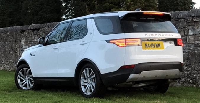 discovery-hse-7-seater-2017 for prestige wedding car hire birmingham
