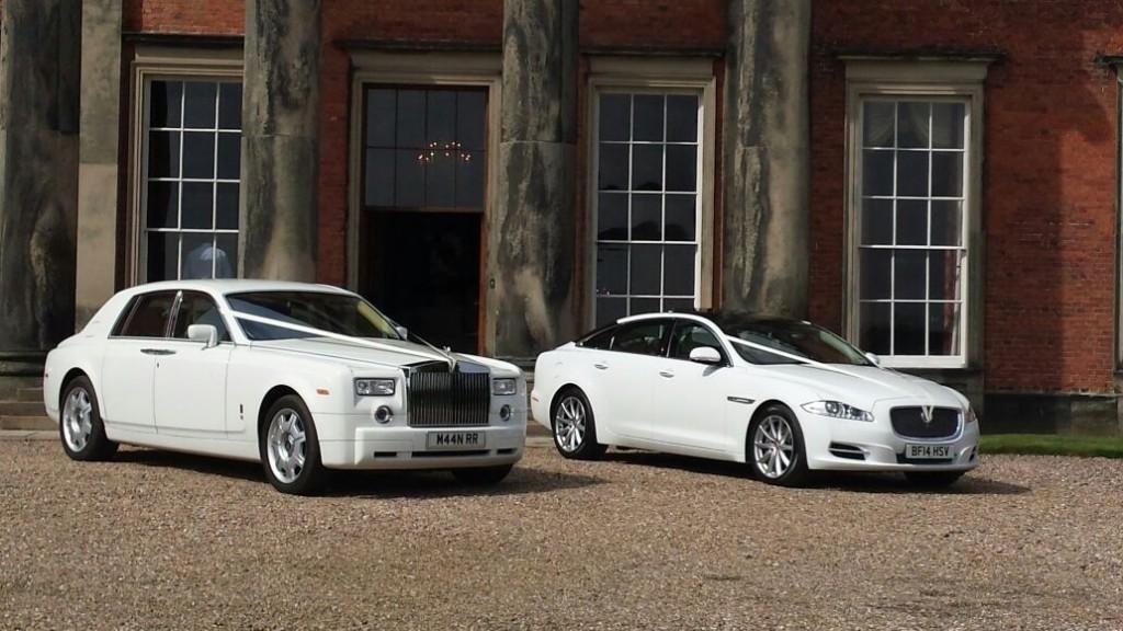 2 Rolls Royce manns limos