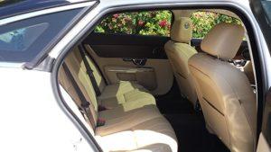 Jaguar luxury car for prestige wedding car hire birmingham