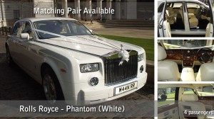 Phantom Rolls Royce HIre