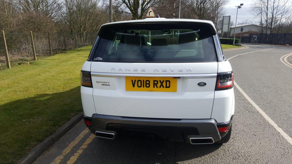 White Range Rover for prestige wedding car hire birmingham