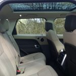 panoramic roof on range rover for prestige wedding car hire birmingham