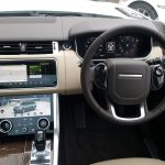 interior of Range Rover for prestige wedding car hire birmingham