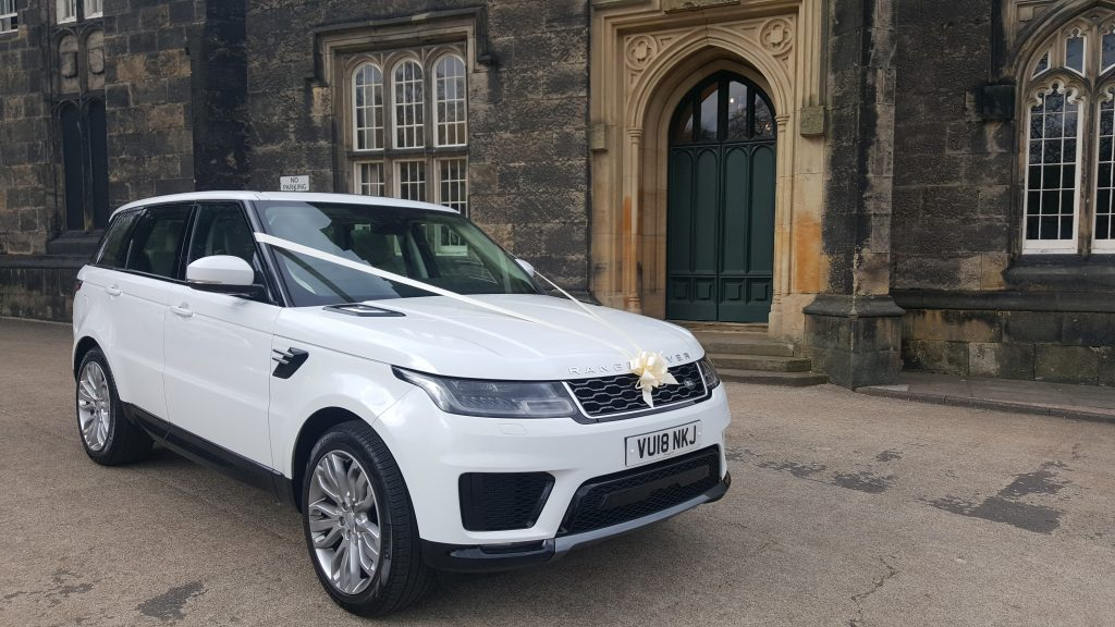 Range rover hire for weddings